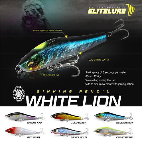 Липлесс минноу White Lion