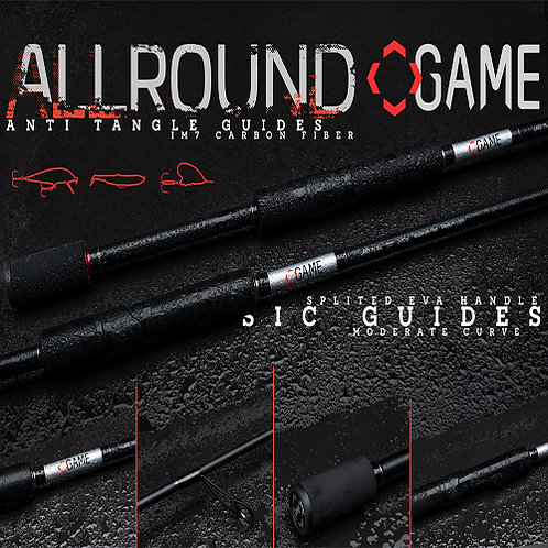 Game All Round Spinning Rods
