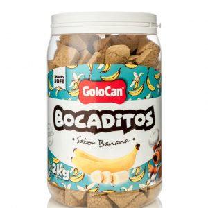 GOLOCAN BOCADITOS TACHO CERRADO BANANA X 2 KG