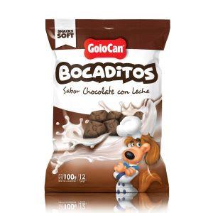 GOLOCAN BOCADITOS CHOCOLATE CON LECHE X 100 GRS