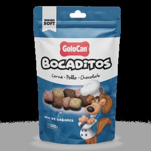 GOLOCAN BOCADITOS CARNE POLLO CHOCOLATE X 500 GRS