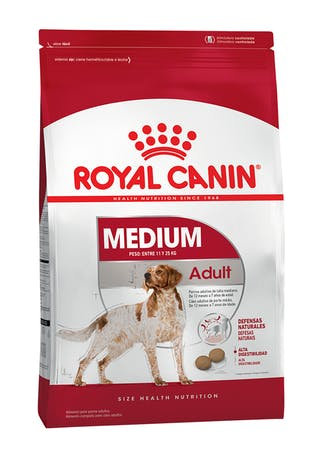 ROYAL CANIN PERRO ADULTO MEDIANO X 3 KG