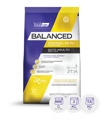 BALANCED GATO ADULTO URINARIO X 2 KG