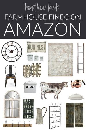 FARMHOUSE FINDS ON AMAZON