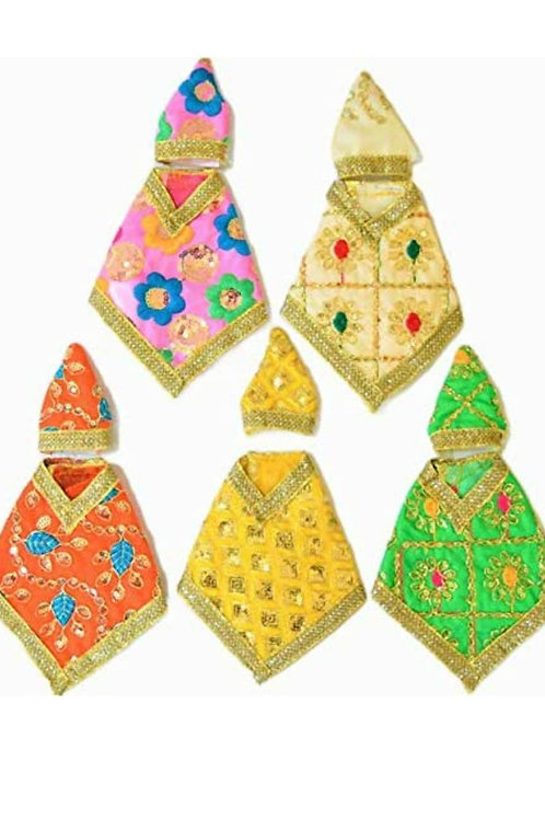 Saibaba Dress/Vashra/Embroidery  No- 0 - Pack of 5