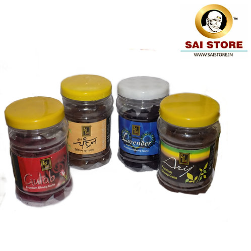 Sai Premium Dhoop Cone Pack OF - 4
