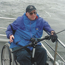 Wheelchair Fishing