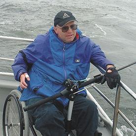 Wheelchair Fishing