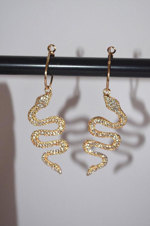 Gold Snake Huggies