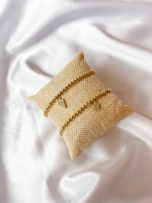 Gold Beaded Bracelets