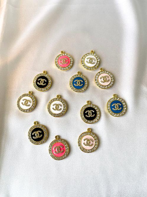 CC Rhinestone Necklace