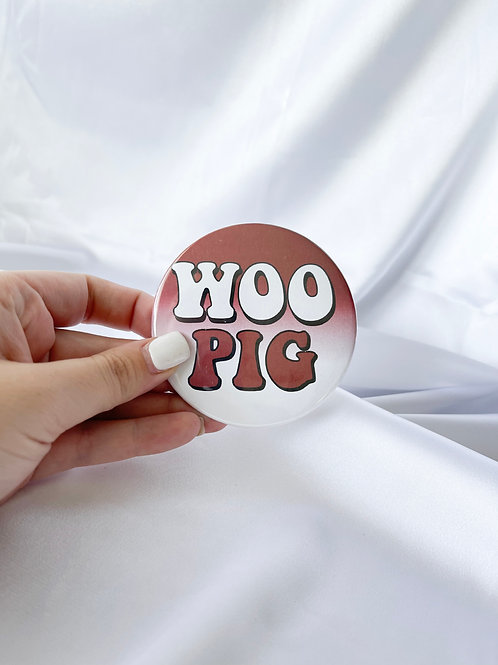 Woo Pig Bubble Letters