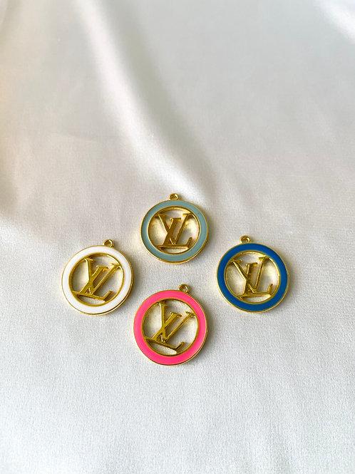 LV Open Circle Necklace