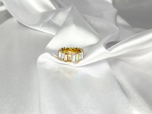 Rhinestone Ring - Iridescent