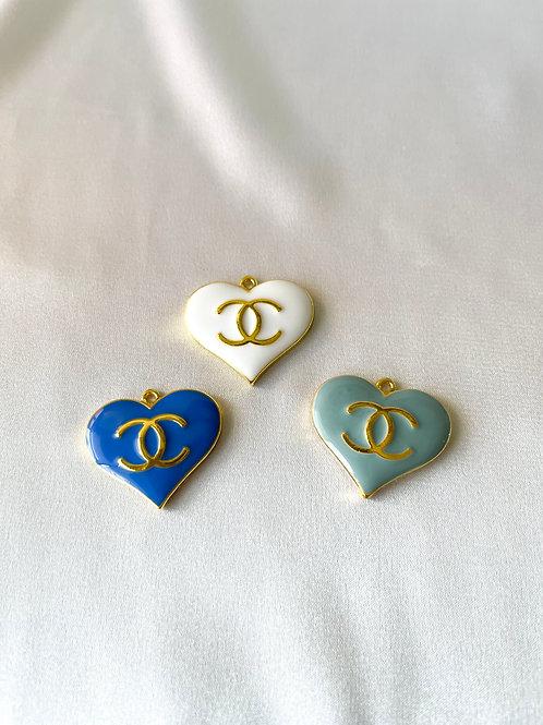 CC Heart Logo Necklace