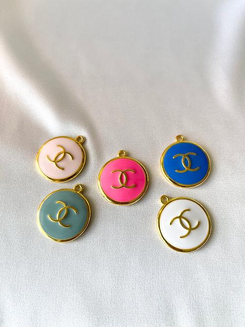CC Logo Circle Necklace