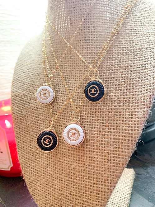 Authentic Repurposed Button Necklaces