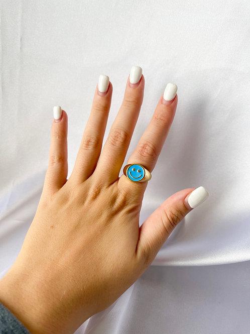 Smiley Star Eyes Ring