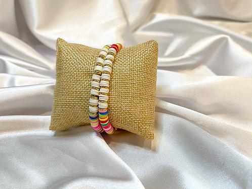 Rainbow Multi Bracelet