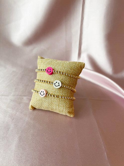Colorful Smiley Bracelets