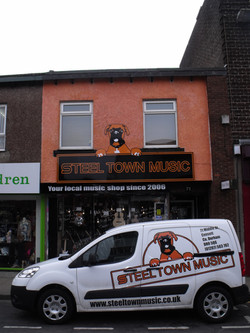 The new shop front, March 2017