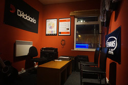 One of our guitar tuition rooms
