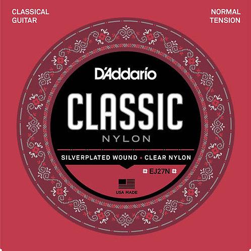 D'addario Classical Guitar Strings EJ27N Normal Tension