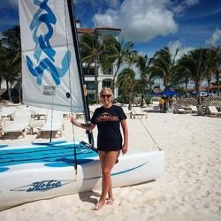 Sue in Barbados