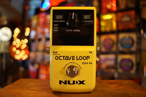 NUX Octave Loop Looper Pedal