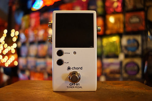 Chord CPT-01 Tuner Pedal