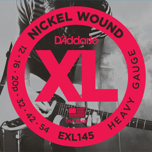 D'addario XL Electric Guitar Strings EXL145
