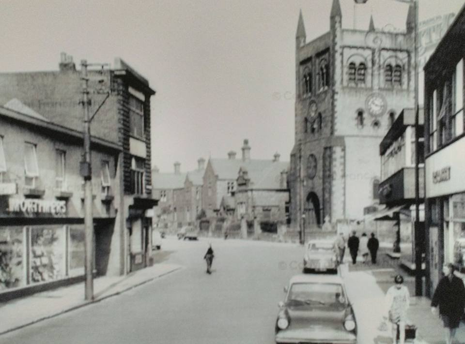 Middle Street, Consett ages ago