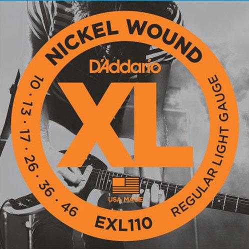 D'addario XL Electric Guitar Strings EXL110