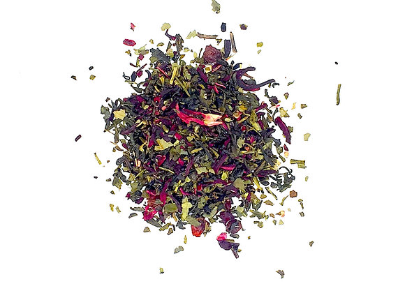 Pomegranate Green Tea - 3oz