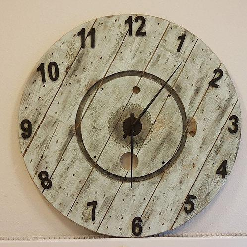Patineret ur - Diameter 118cm