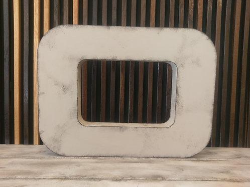 Patineret facadebogstav - Bogstav O