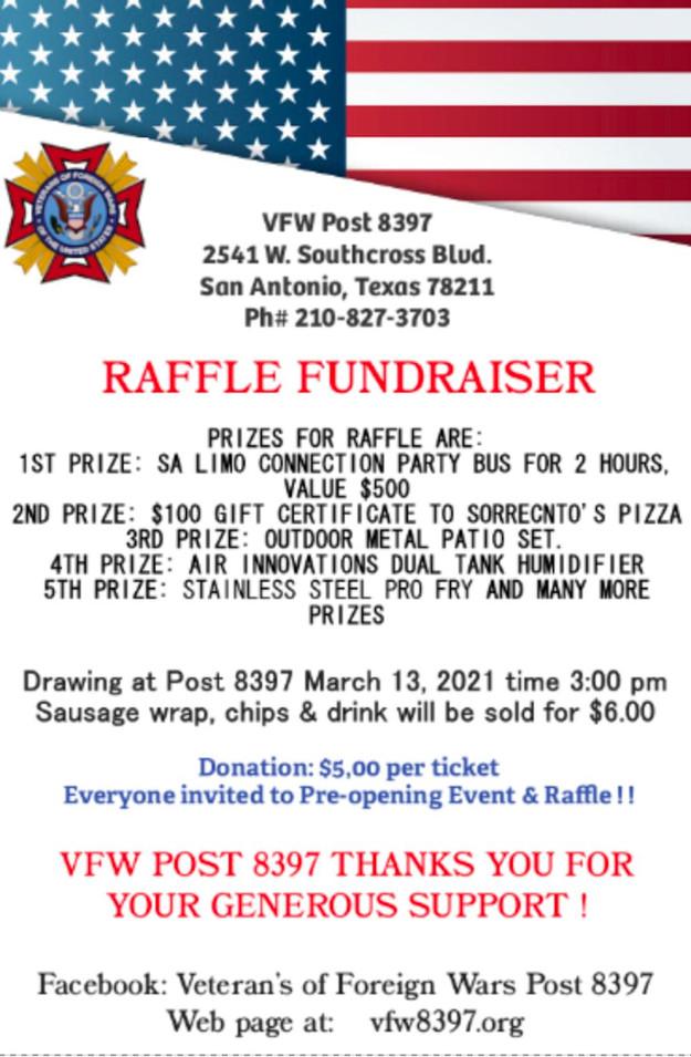 VFW Post 8397 2021 Raffle Fundraiser.jpg