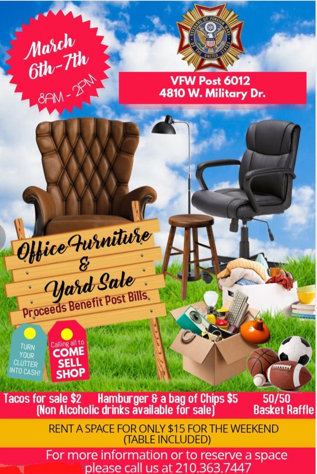VFW Post 6012 March 2021 Yard Sale.jpg