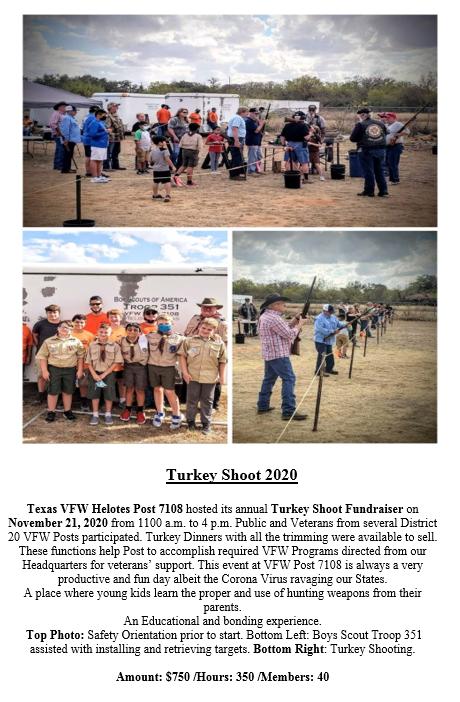 VFW Post 7108 2020 Turkey Shoot