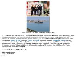 Texas VFW 2021 Mid-Winter Round-Up
