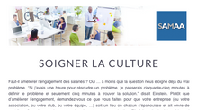 Soigner la culture... & more - Newsletter Novembre