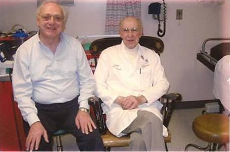 Dott. Ignazio d'Addetta e Dott. Ponseti