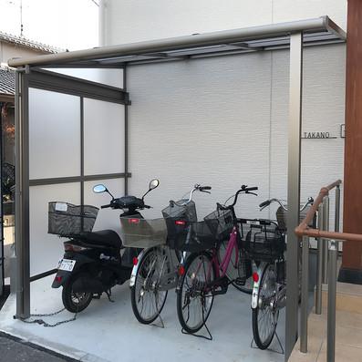 自転車置き場の設置
