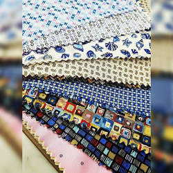 Beautiful shirting fabrics