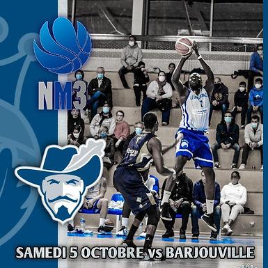 SM1 face à Barjouville