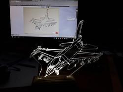F16 מנורת לד