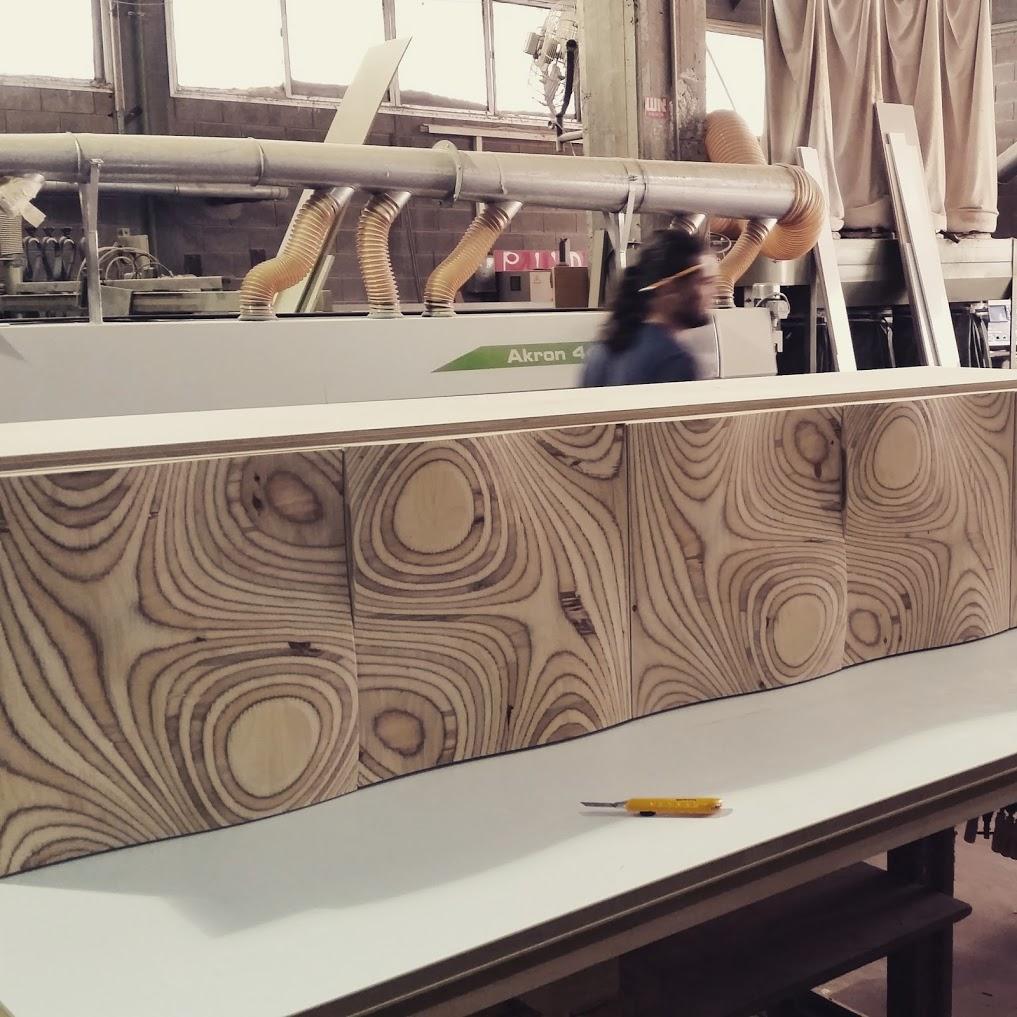 רהיטים בעיצוב פרמטרי