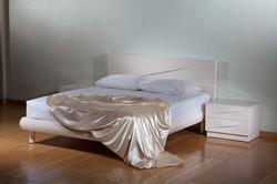אונילי חדר שינה לבן מעוצב מודרני