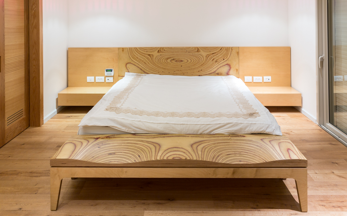 משי ליבנה - חדר שינה מודרני מעוצב
