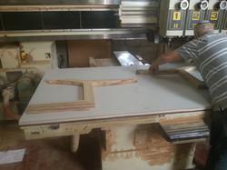 כסא רקפת - תמונות ייצור בנגריה